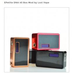 EPetite DNA 40 Box Mod by Lost Vape