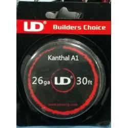 Kanthal Resistance Wire Youde UD 30FT- 26GA