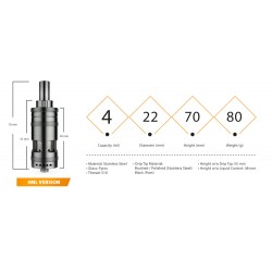 Exvape Expromizer V3 Fire 4 ml
