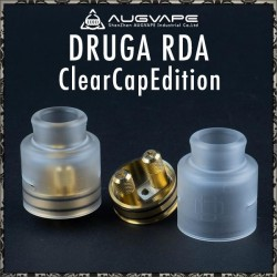 Atomizzatore Druga 24 RDA Clear Cap By Augvape