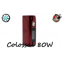 Asmodus Colossal 80W TC Box Mod Ruby Red
