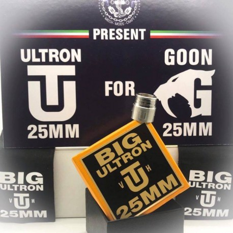 BIG ULTRON CAP for GOON 25mm by Vape Heis